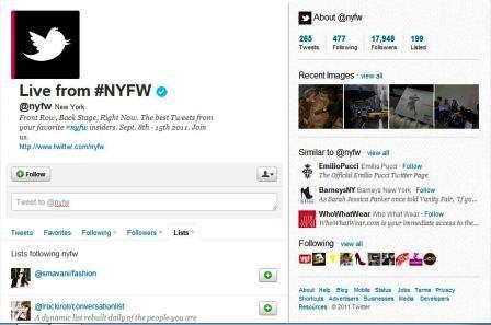 twitter @nyfw fashion on new york