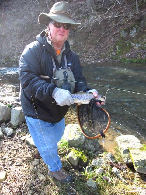 Sweet and salt fly fishing beaver creek va 3 24 12 for Beaver creek fly fishing