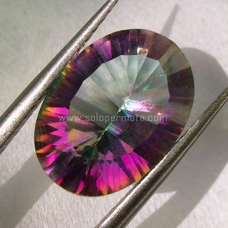 Batu Permata Mystic Quartz - SP730