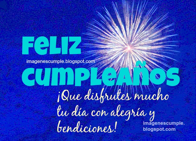 Que Disfrutes tu Cumpleaños. imágenes gratis de cumpleaños para amigos, tarjeta de cumpleaños feliz para hombre o mujer, amiga o amigo. Postales lindas con buenos mensajes de cumpleaños.