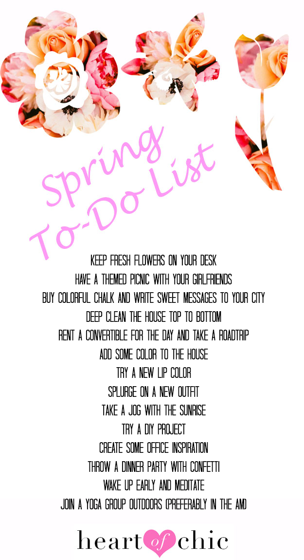 fun things to do in spring