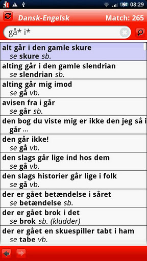 gyldendals røde ordbog tysk