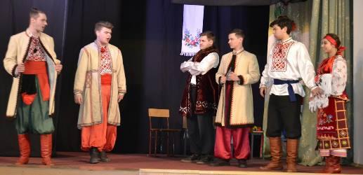 Вистава народної театральної студії «М.А.С.К.А.»