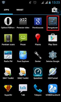 setting internet telkomsel di android