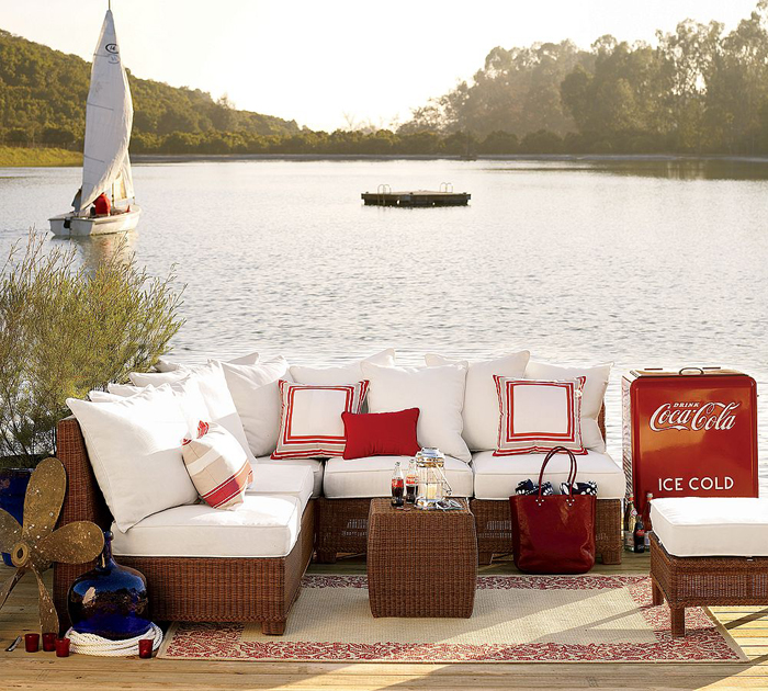 Estilo rustico muebles para livings exteriores - Muebles para exteriores ...