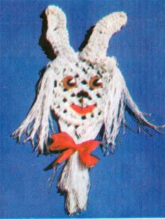 Как сплести зайчика в макраме? Методика плетения зайчика техникой макраме.