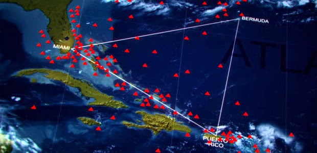 Terungkap Jawaban Misteri Segitiga Bermuda