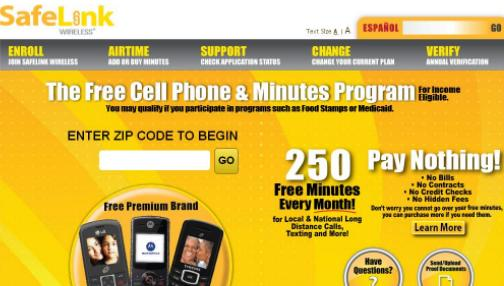 Discount coupons for safelink smart phone