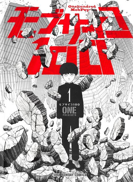 Pierwszy tom mangi Mob Psycho 100