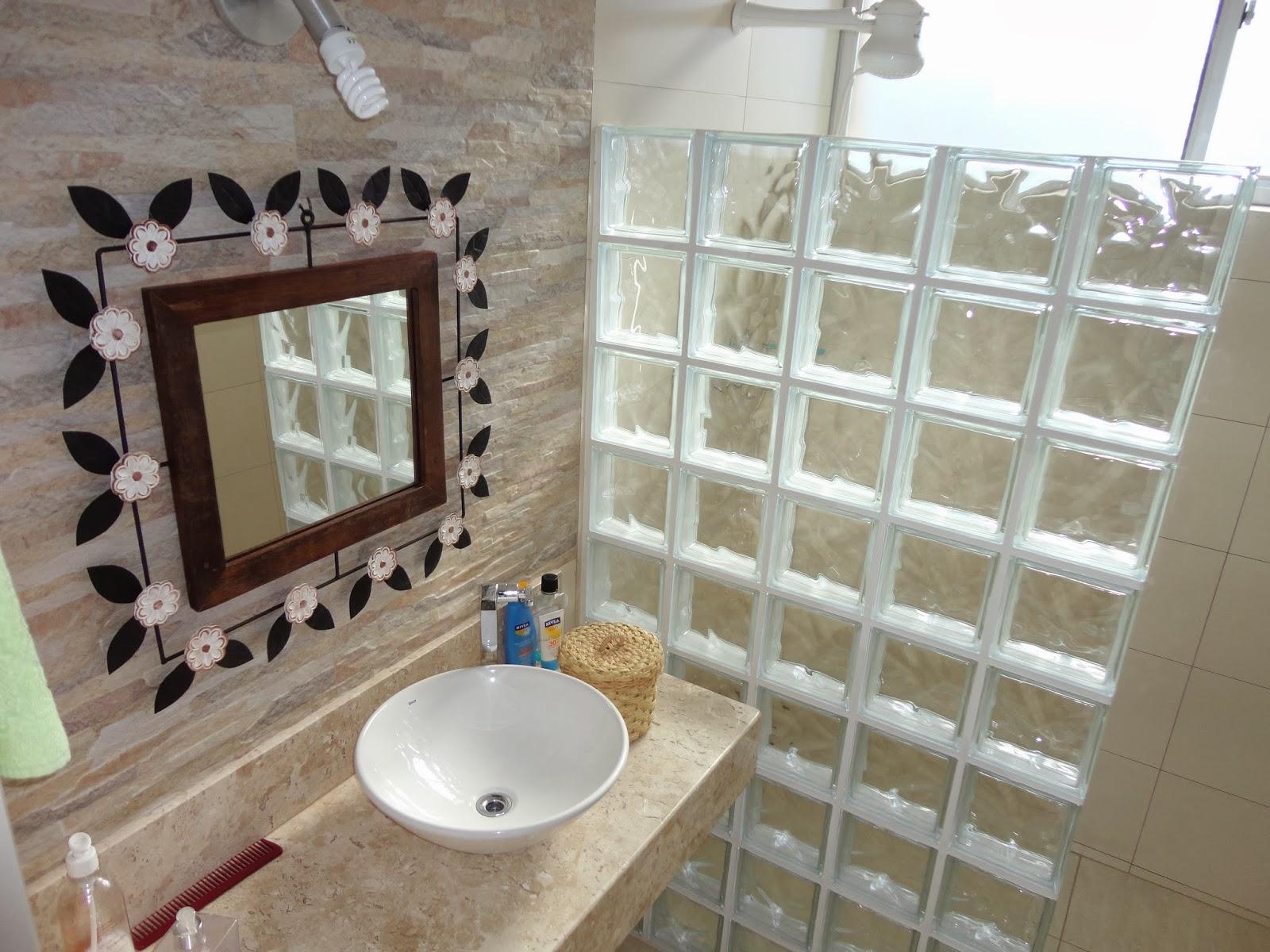 RR Decor: Projeto de Banheiro #2C1D1A 1600x1200 Banheiro Bancada Bege Bahia