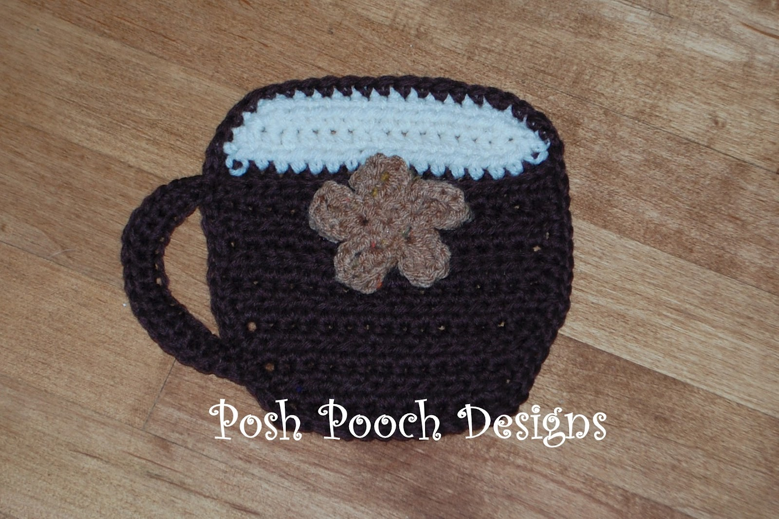 Posh Pooch Designs Dog Clothes: Coffee Cup Hot Pad Crochet ...