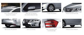 Photo: Honda City Exterior Features