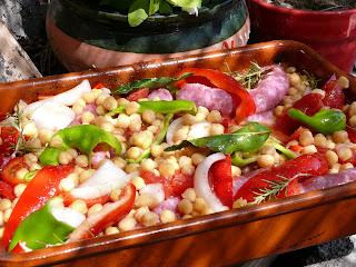 catalan sausage casserole