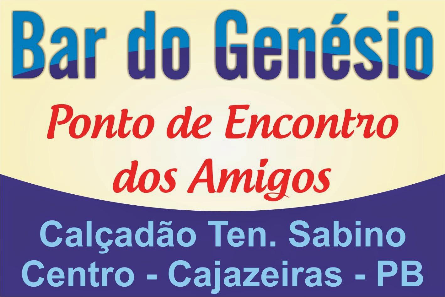 BAR DO GENESIO EM  CAJAZEIRAS PB