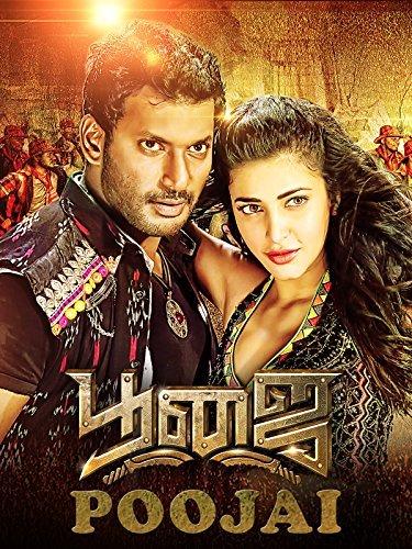 Poster Of Poojai 2014 480p Tamil DVDRip Full Movie
