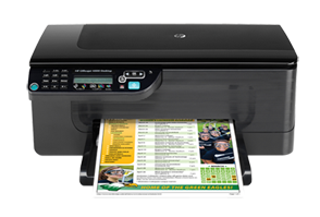 HP Officejet 4500 Desktop All-in-One Printer - G510a support