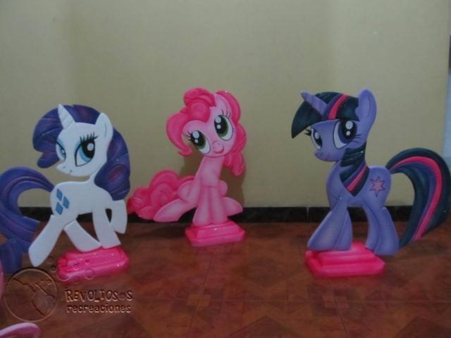 Decoracion Con Icopor   Fiestas De My Little Pony   Peque  O Pony