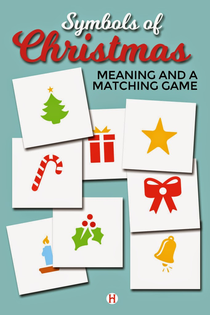 Symbols Of Christmas Matching Game Blogger Online Advent Day 10
