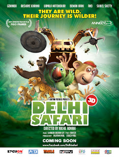 Delhi Safari (2012) Movie Poster