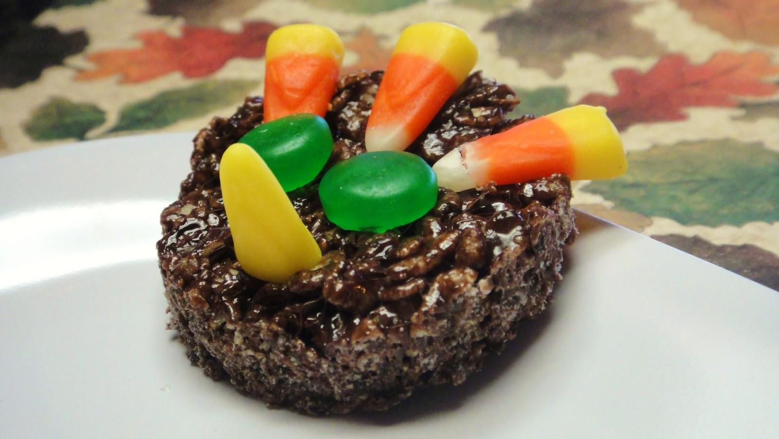 Cookie Jar Treats Brown Turkey Rice Krispie Treat