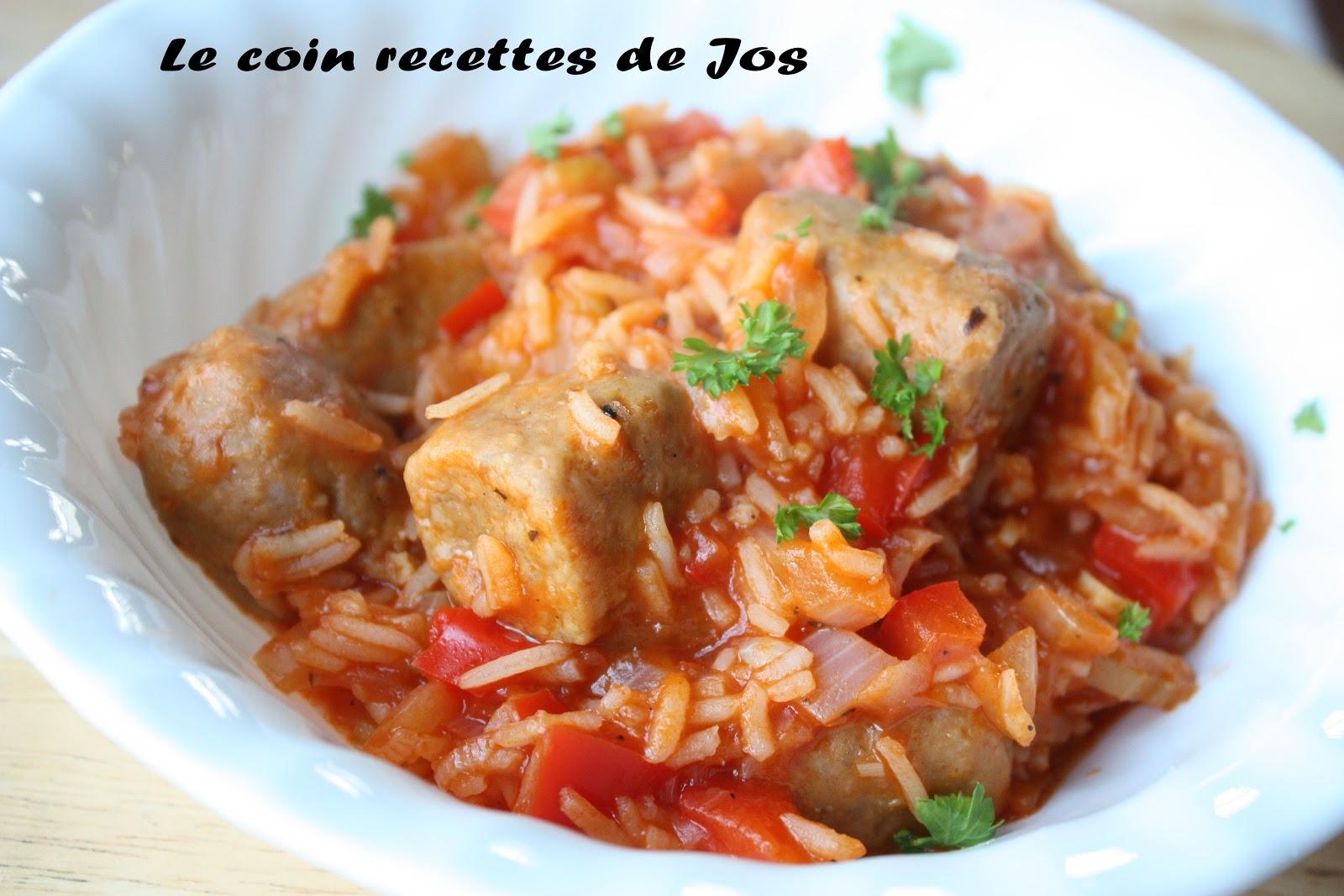 casserole de saucisses et de riz 192 l italienne recette
