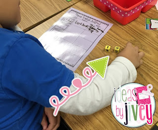 Tips and tricks for managing math stations with Ideas by Jivey.