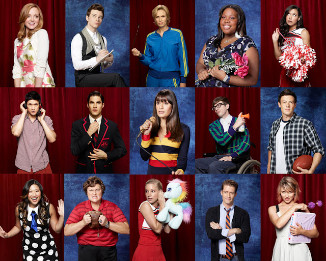 Green Pear Diaries Glee Cast season 3