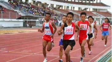 Lari jarak menengah