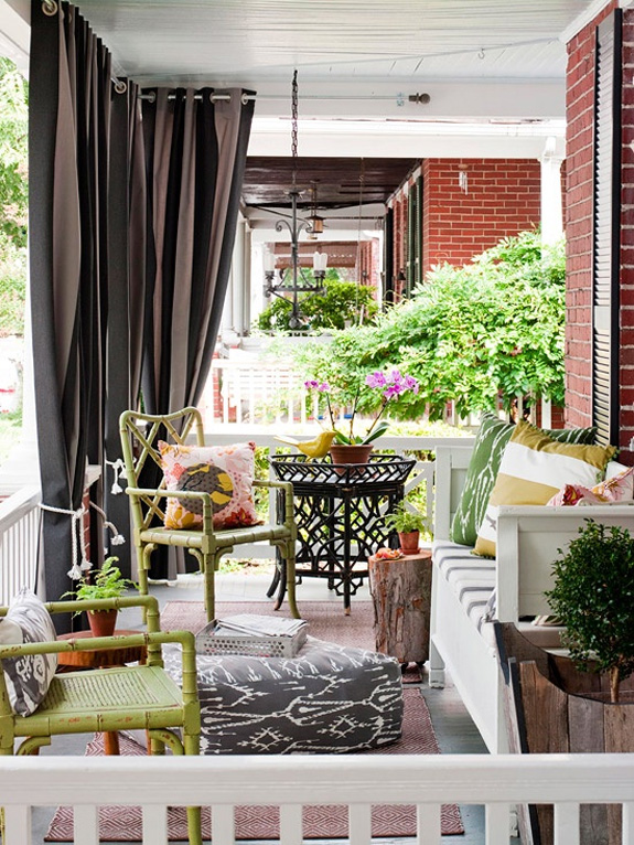 belle maison: bm archives :: cozy outdoor spaces