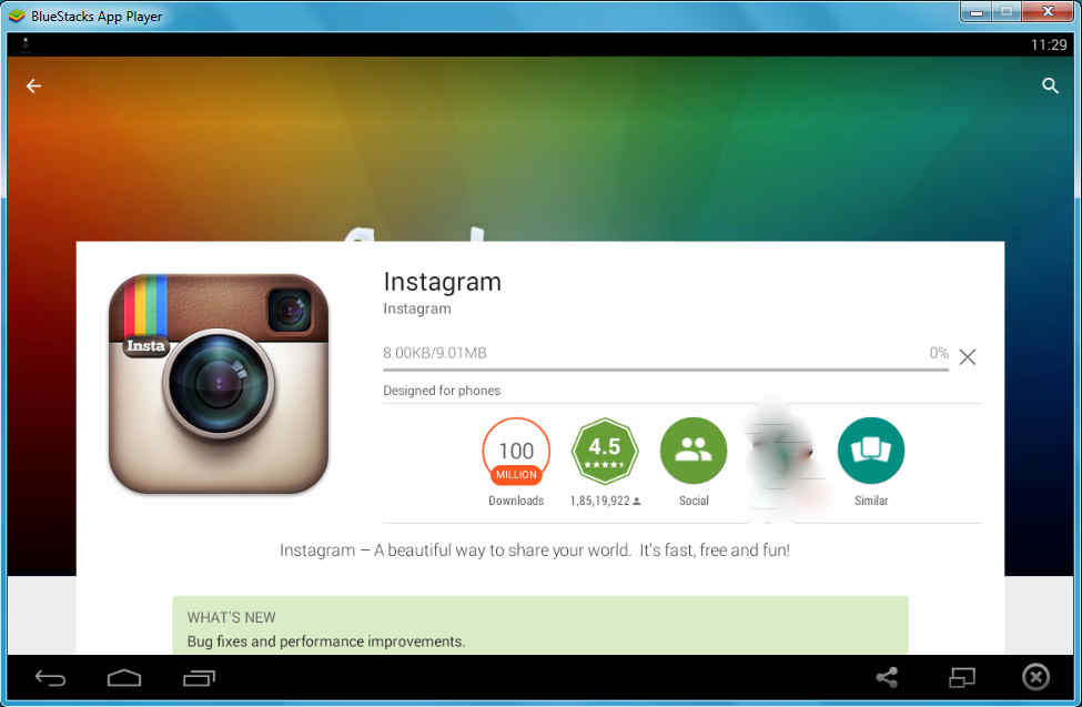 free download software instagram for laptop