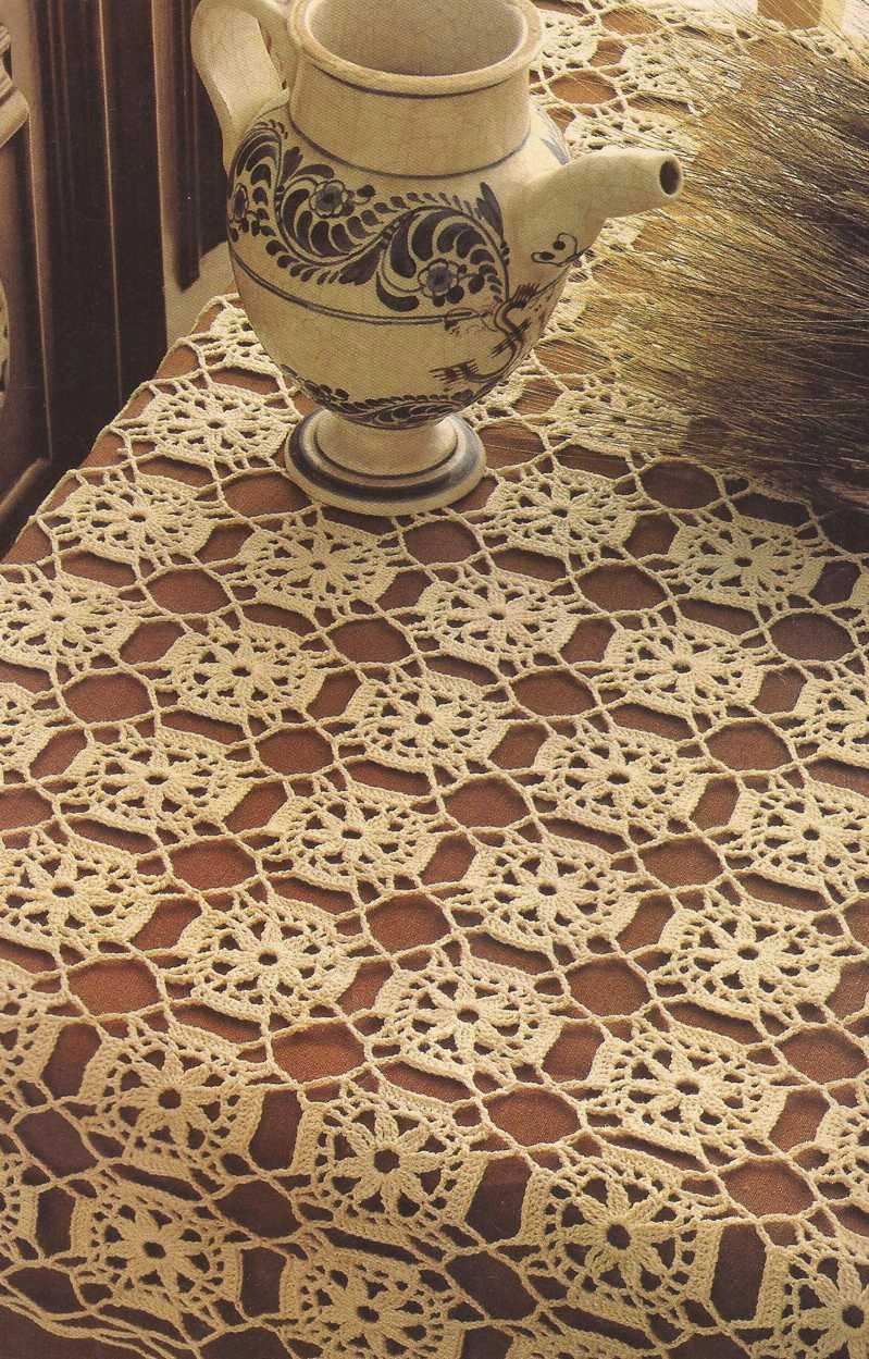 "#41 Tapete ""Mosaico"" a Crochet"