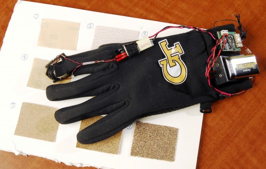 vibrating glove
