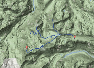 Topology Map of Sunrise Hike