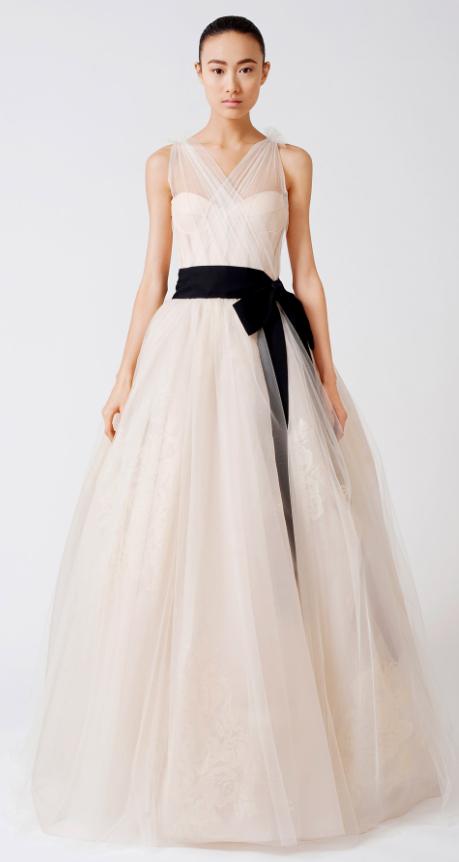 Vera wang robe de mariage for Meilleures robes de mariage vera wang