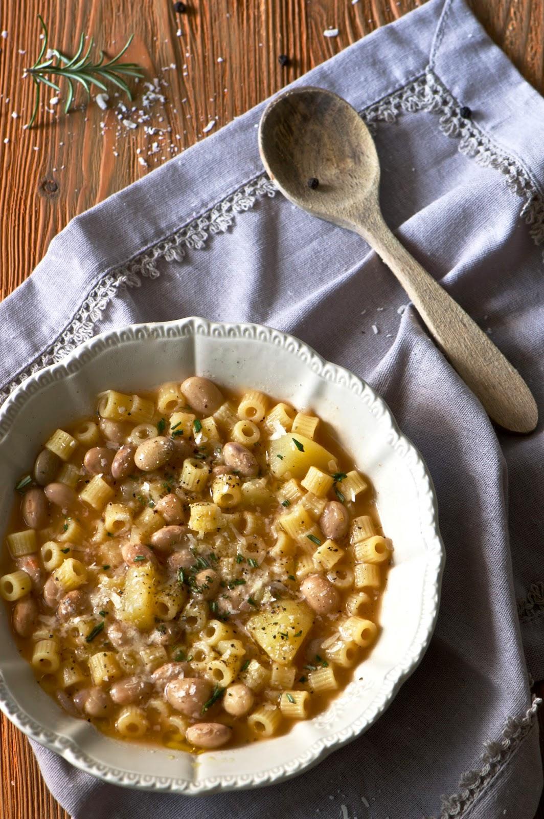 pasta fagioli e patate