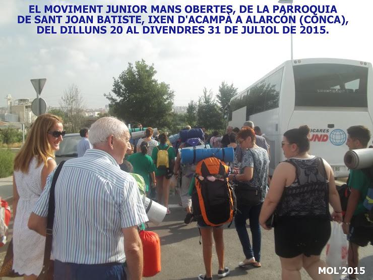 EL MOVIMENT JUNIOR MANS OBERTES D'ACAMPÀ