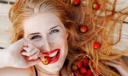 Stroberry untuk kulit mulus