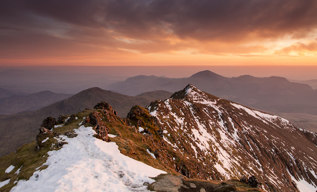 Snowdon South Ridge by Nick Livesey