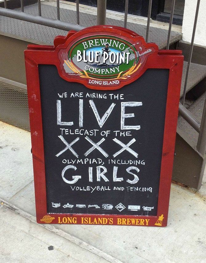 Creative Chalkboard Bar Signs, funny bar signs, funny chalkboard signs