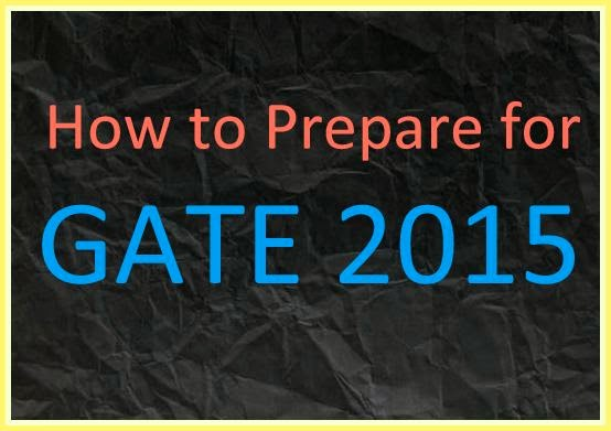 GATE Preparation 2015