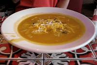 The Totilla Soup is surprisingly good.