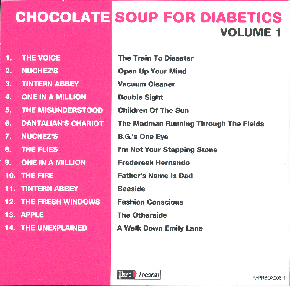 Tea & Symphony: CHOCOLATE SOUP FOR DIABETICS - VOLUME 1
