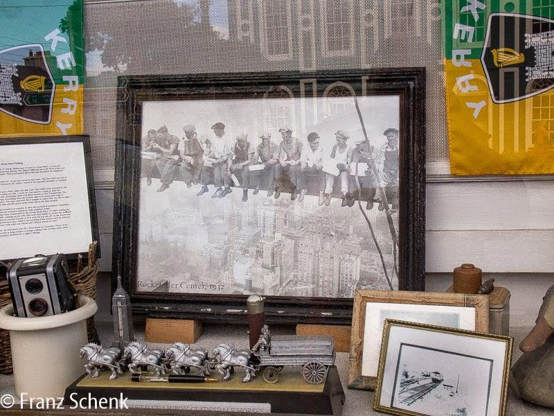 Shop window in Curch Street, Caherciveen, Kounty kerry