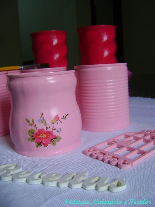 latas de nescau como decorar latas de leite em p como decorar latas