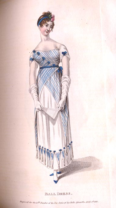Regency Ramble: Regency Fashion 1811