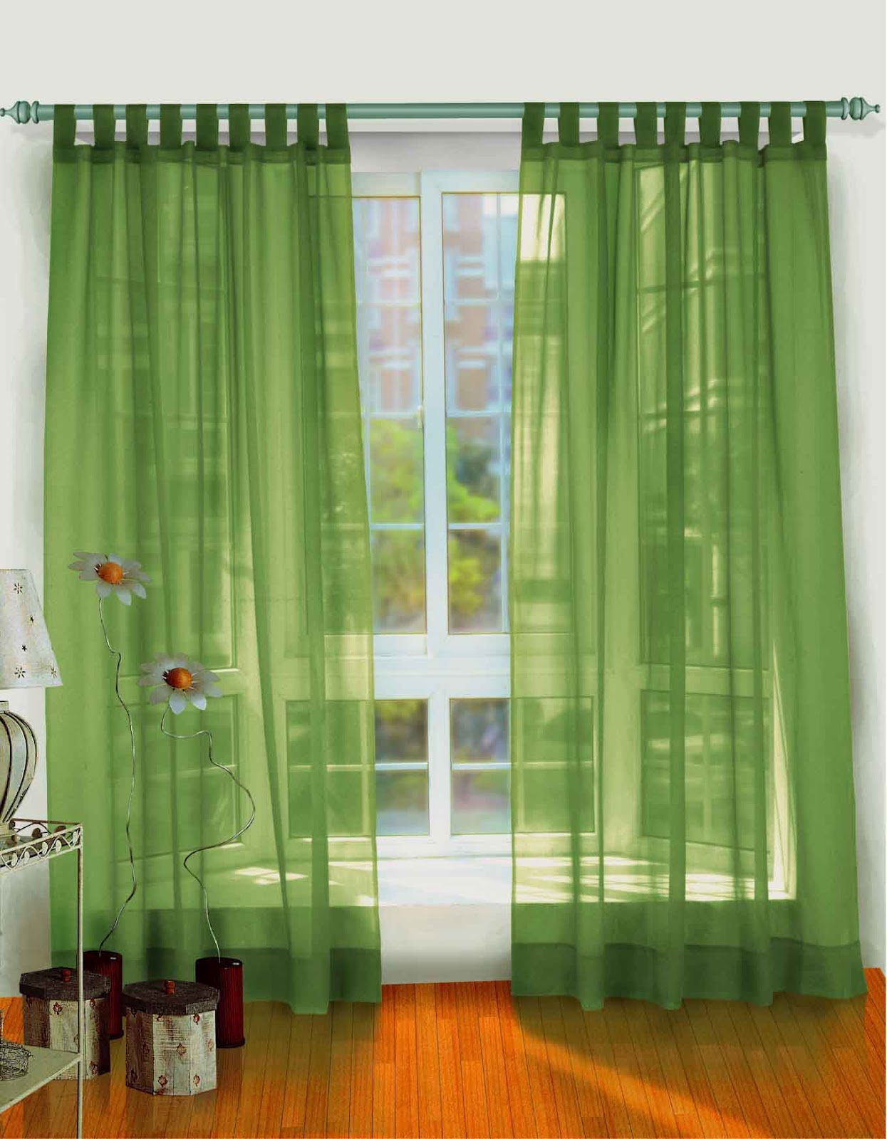 Window and door curtains design interior design ideas for 3 window curtain design