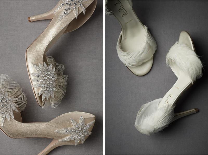 Shine Trim Wedding DIY Inspiration Embellished Shoes