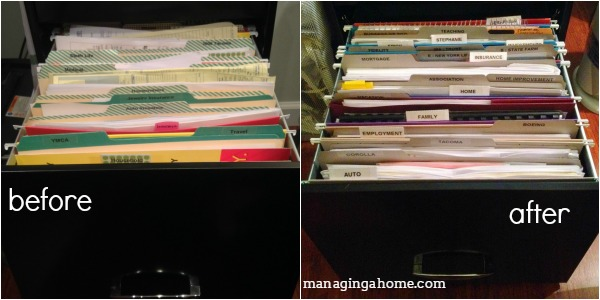 filing organization. paperwork management & Operation: Project Organize - Month 2 Reveal
