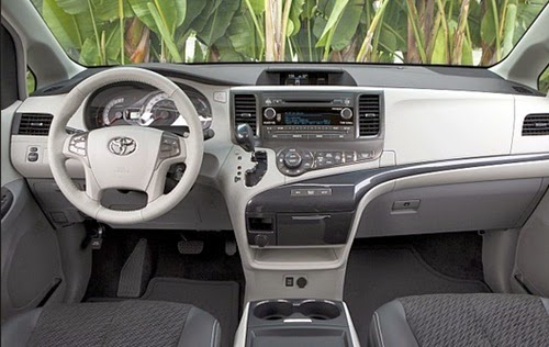 2015 Toyota Sienna Space Canada