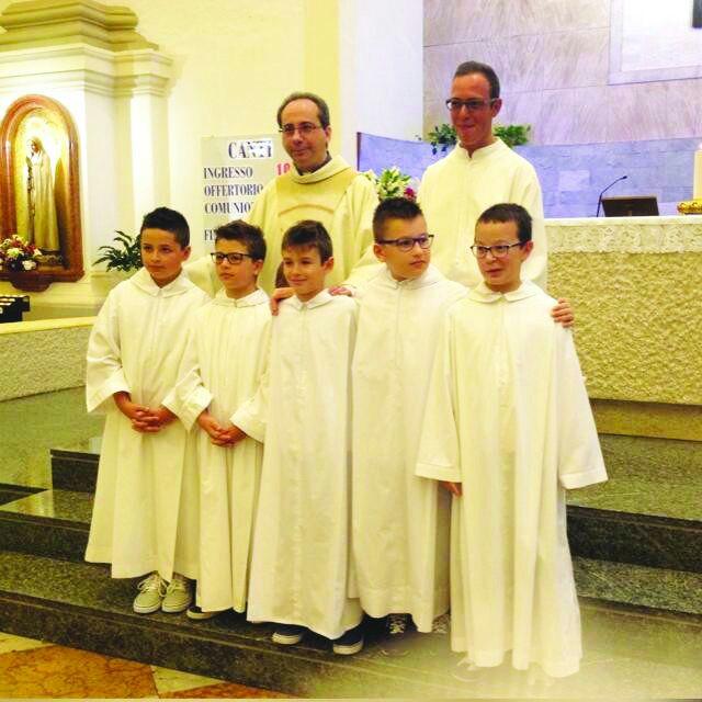 Ministranti san Martino Sottomarina
